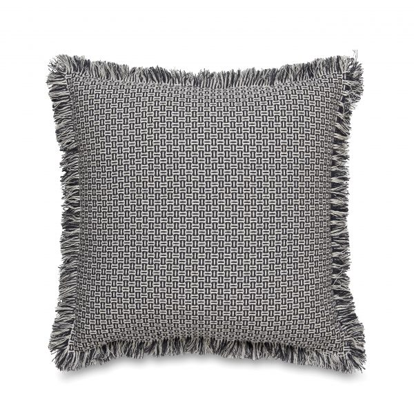 Parker Woven Fringed Cushion