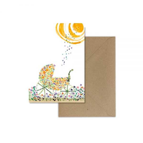 Love Bug Blank Card